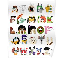 Child of the 70s Alphabet Poster