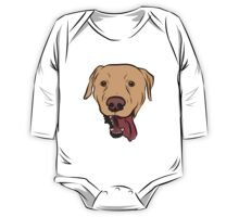 Yellow Lab One Piece - Long Sleeve