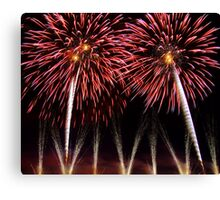 Fireworks, Le Puy de Fou, France Canvas Print