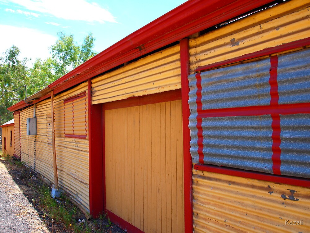 The Old Murray Shipping Co. Sheds by Kazzii