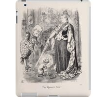 Cartoons by Sir John Tenniel selected from the pages of Punch 1901 0159 The Queen's Year iPad Case/Skin