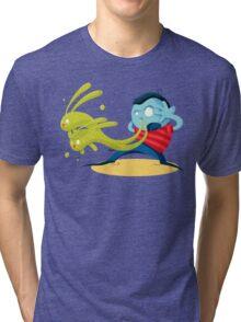 Green Rabbits Tri-blend T-Shirt