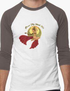 Slave War Pin Up Men's Baseball ¾ T-Shirt