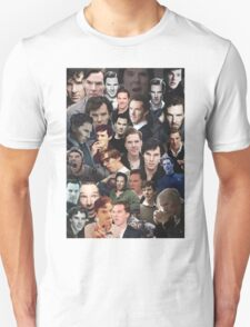 Benedict Cumberbatch Collage T-Shirt