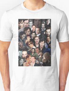 Benedict Cumberbatch Collage T-Shirt