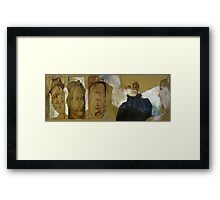Distortion Project Framed Print