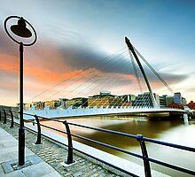 Samuel Beckett Bridge by Gerry Chaney