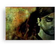 (Meh...) I burn for You Canvas Print