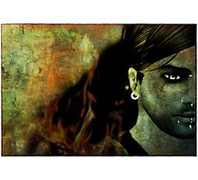 (Meh...) I burn for You Photographic Print