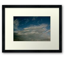 I carry your heart with me Framed Print