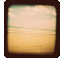 Vanilla morning Photographic Print