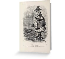 Cartoons by Sir John Tenniel selected from the pages of Punch 1901 0134 A Dirty Crossing Greeting Card