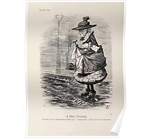 Cartoons by Sir John Tenniel selected from the pages of Punch 1901 0134 A Dirty Crossing Poster