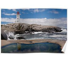 Peggy's Cove day Poster