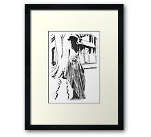 Wating for Godot-1 Framed Print