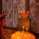 Candles - St Pauls Cathedral by Hans Kawitzki