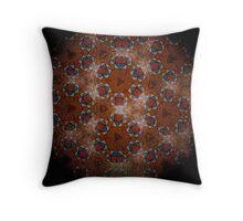 Mandala Modernista Tiles  0532 Throw Pillow