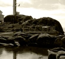 Cape Forchu Lighthouse, Yarmouth, NS Sticker