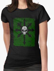 Khaos Green Womens Fitted T-Shirt