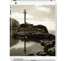 Cape Forchu Lighthouse, Yarmouth, NS iPad Case/Skin