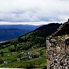 Abriachan, Scottish Highlands, view down to Loch Ness by BronReid