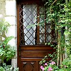 Pretty doorway, St Paul de Vence, Provence, France by BronReid