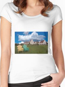Keltic Lodge, Cape Breton, NS Women's Fitted Scoop T-Shirt