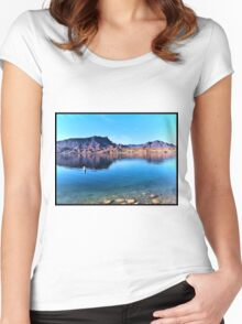 Colorado River Morning Women's Fitted Scoop T-Shirt