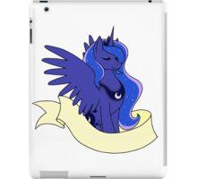 Princess Moon Rear - Plain Banner Version iPad Case/Skin
