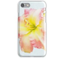 Pink and Yellow Daylily iPhone Case/Skin