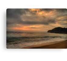 Awakening - Warriewood Beach, Sydney - The HDR Experience Canvas Print