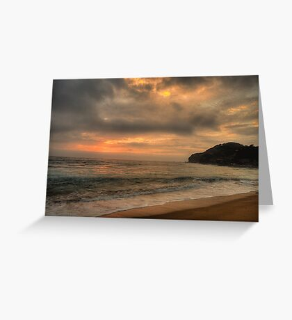 Awakening - Warriewood Beach, Sydney - The HDR Experience Greeting Card