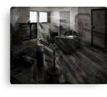 "The Ghosts of Alcatraz ""Jim Quillen "" Canvas Print"