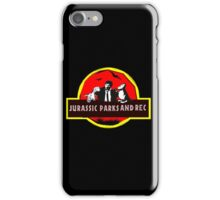 jurassic parks and rec iPhone Case/Skin