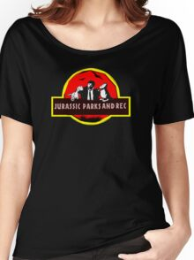 jurassic parks and rec Women's Relaxed Fit T-Shirt
