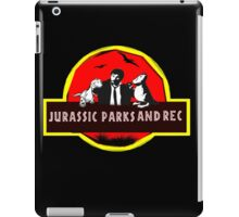 jurassic parks and rec iPad Case/Skin