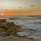 Sand,Shells,Surf and Sunset by noffi