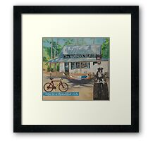 Life is a beautiful ride Framed Print