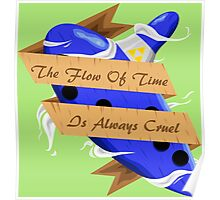 The Legend of Zelda (The Flow of Time is Always Cruel) Poster