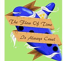 The Legend of Zelda (The Flow of Time is Always Cruel) Photographic Print