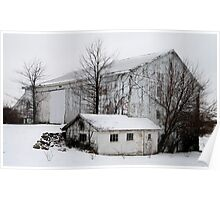 Barns of  Winter Poster