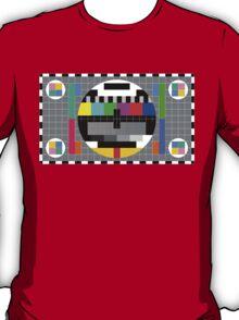 Calibration Test Card, TV monitor film, video geek T-Shirt