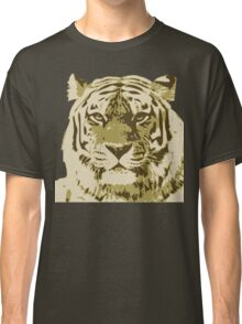 Tiger head in three colors Classic T-Shirt