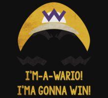 I'm-a-Wario! Kids Tee