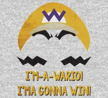 I'm-a-Wario! One Piece - Long Sleeve