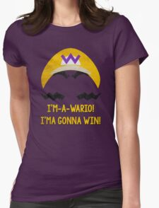 I'm-a-Wario! Womens Fitted T-Shirt