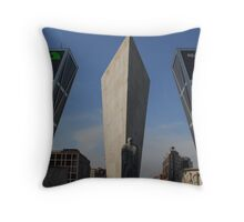 Kio's Towers, Plaza de Castilla. Madrid  Throw Pillow