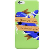 The Legend of Zelda (The Flow of Time is Always Cruel) iPhone Case/Skin