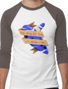 The Legend of Zelda (The Flow of Time is Always Cruel) Men's Baseball ¾ T-Shirt