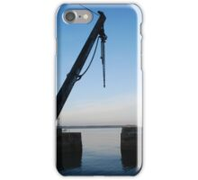 Hoist at Charlestown Harbour iPhone Case/Skin